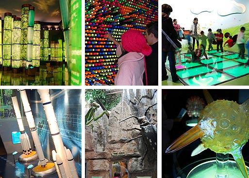 Достопримечательности Шанхая: музей Науки и Техники. Фото
