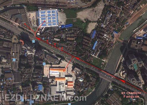 Китай. Как доехать до чайного рынка в Гуанчжоу