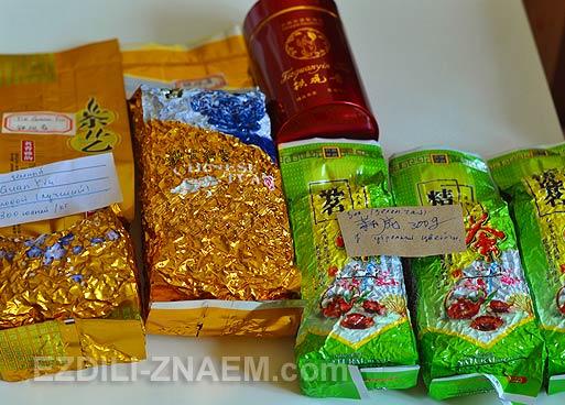 Китай: как купить китайский чай в Гуанчжоу