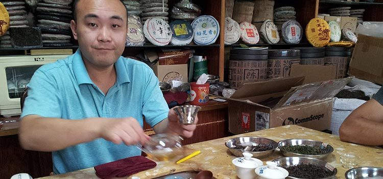 Китай. Покупаем китайский чай в Гуанчжоу