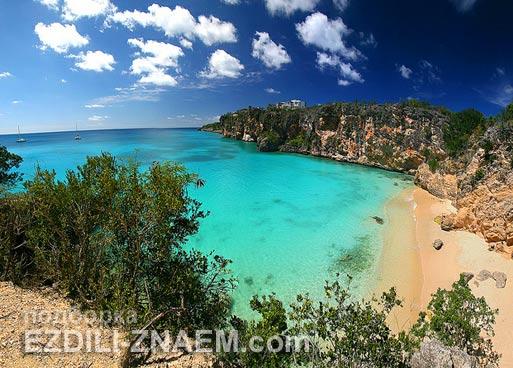 Лучшие острова: остров Ангилья на Карибах