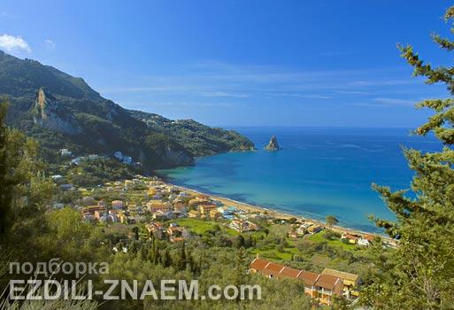 Лучшие острова мира: остров Корфу в Греции