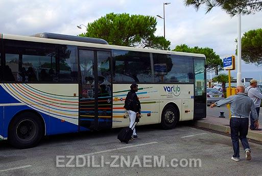 Как добраться из Ниццы до Сан-Тропе на поезде и автобусе