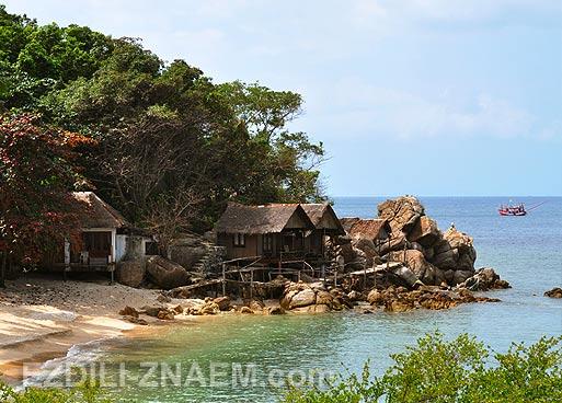 Пляжи острова Панган в Тайланде