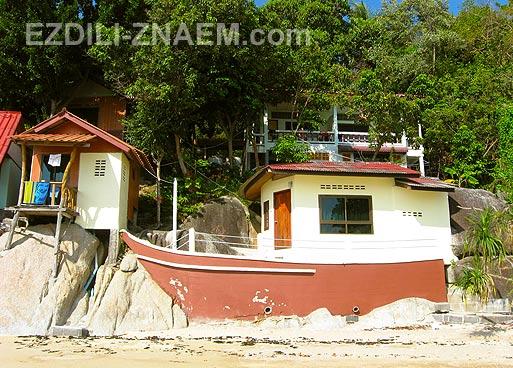 Недорогие отели острова Панган