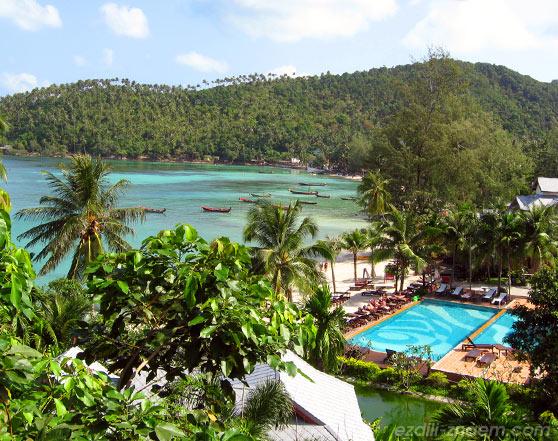 Один из ресортов на острове Панган. Тайланд