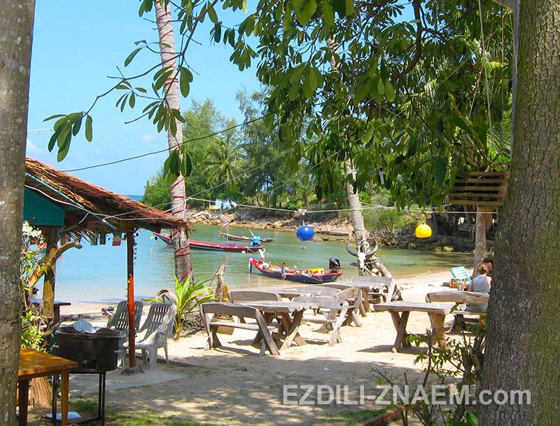 пляжи Пангана выглядят очень просто