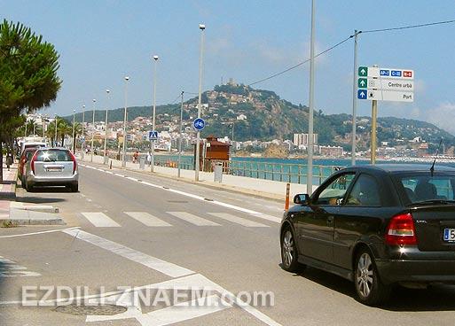 Поездка вдоль побережья Испании и Франции на арендованном авто
