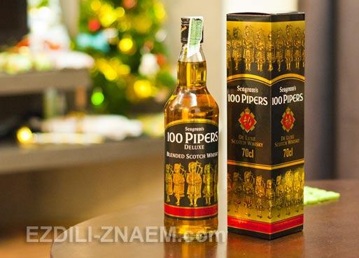 """Алкоголь в Тайланде: виски """"100 Pipers"""""""