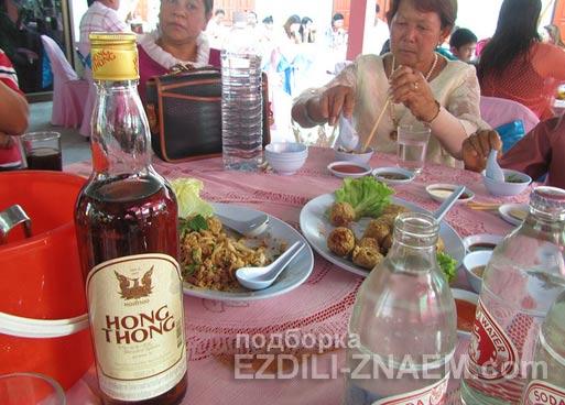 """Алкоголь в Тайланде. Ром """"Hong Thong"""""""