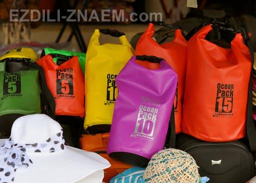 Что купить в Тайланде для отдыха на море: непромокаемый мешок
