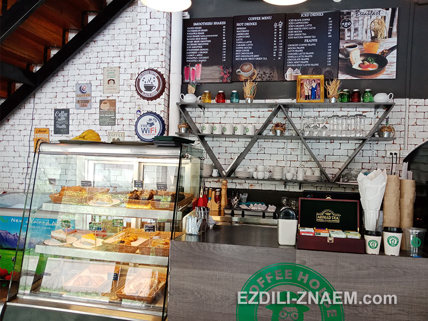 """кофейня """"Coffee House"""" на пляже Ката"""