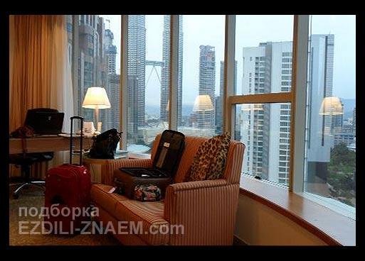 Отели с видом на башни Петронас. Куала-Лумпур