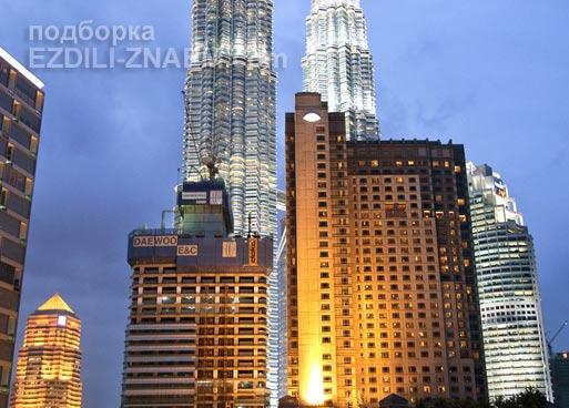 """Вид на Петронасы из отеля """"Impiana"""" в Куала-Лумпур"""