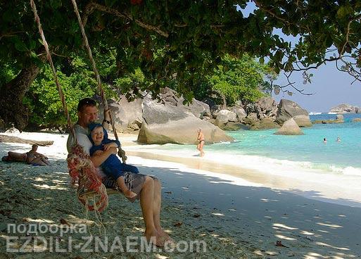 Экскурсия с Пхукета на Симиланские острова