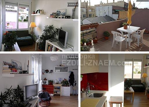 Аренда в Испании. квартира в аренду в Барселоне