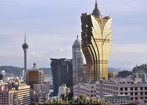 Что посмотреть в Макао: небоскреб-казино Гранд Лисбоа