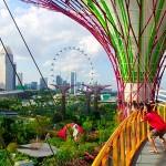 """Достопримечательность Сингапура: """"Парке у Залива"""""""