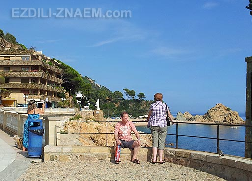 Отдых на курорте Тосса де Мар в Испании