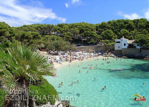 Пляж на острове Майорка. Испания