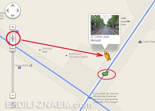 Поиск по Гугл Стрит Вью