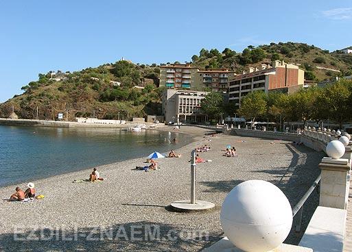 Пляж в Портбоу. Испания