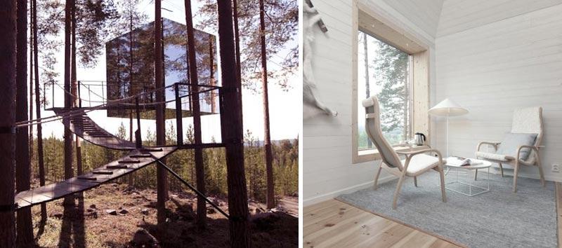 Необычный отель в Швеции