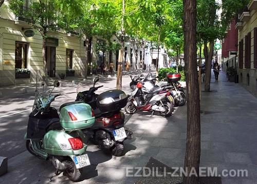 Улицы Мадрида. Прогулка по городу