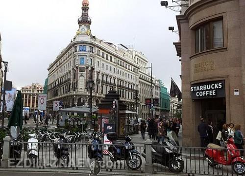 Площадь Севильи в Мадриде