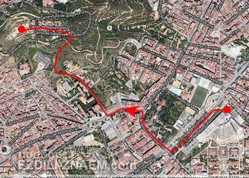 Как подняться на обзорную площадку Guinardo в Барселоне