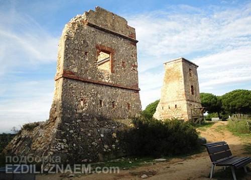 Башни Les Torretes в Калелье