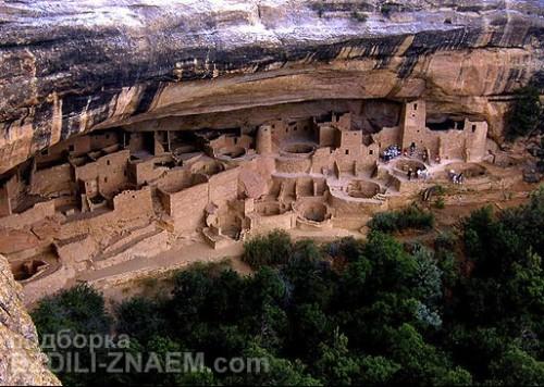 Город на скале: Mesa Verde в Колорадо