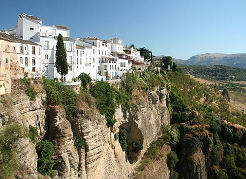 Ронда - город на скале в Испании