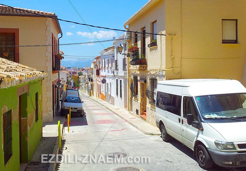 сиеста в испанском городке
