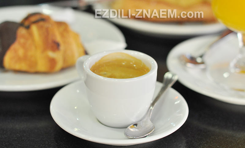 Завтрак в Испании