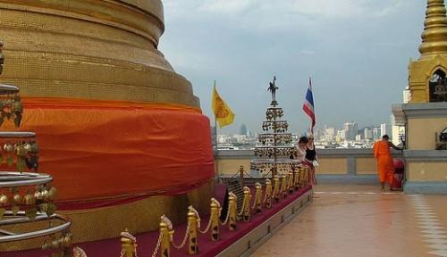 Ват Сакет в Бангкоке