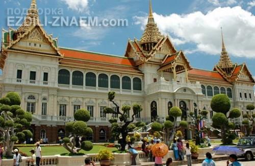 Главное здание Королевского дворца в Бангкоке