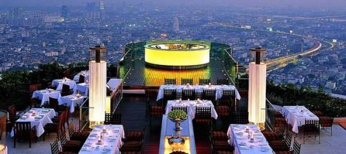 """Ресторан на крыше отеля """"Лебуа"""". Бангкок. Тайланд"""