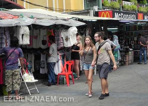 Каосан в Бангкоке - главная тусовка путешественников