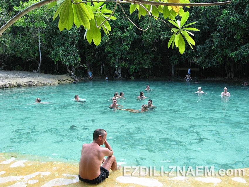 экскурсия + купание в Изумрудной лагуне. Краби. Тайланд