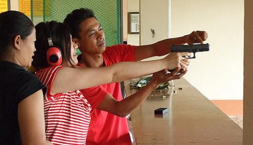 Стрелковый тир в Ао Нанге. Краби