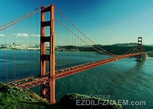 Что посмотреть в Сан-Франциско: мост Золотые Ворота