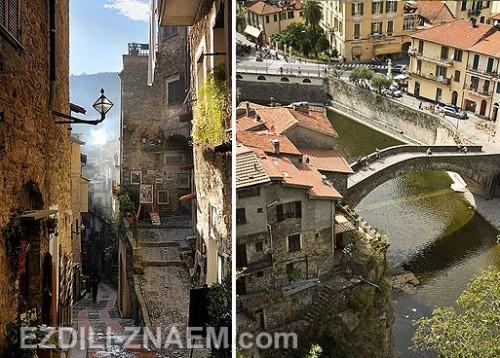 Красивые города Европы: Дольчеаккуа в Италии