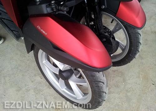 """Отзыв о скутере - трицикла Ямаха """"TriCity"""". Тайланд"""