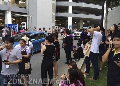 Землетрясение в Тайланде. Чианг Рай