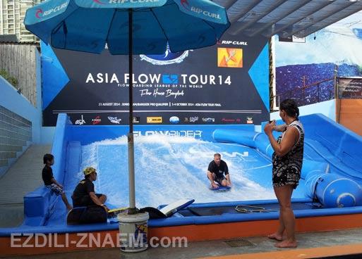 Где потренироваться на серфе в Бангкоке