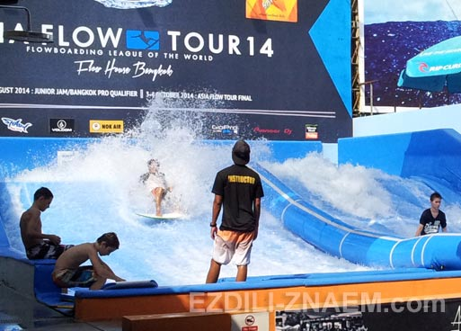Серфинг в Flow House в Бангкоке