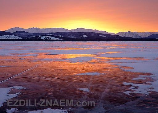 Байкал зимой. Фото из тура