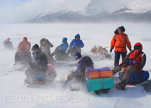 Зимний Байкал. Активный тур по Байкалу