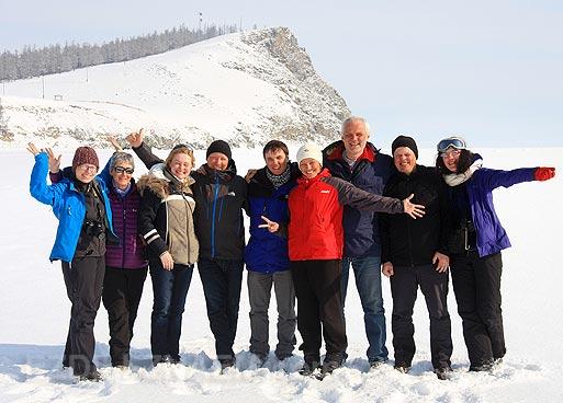 Зимой по Байкалу
